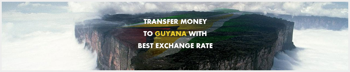 Money transfer to Guyana