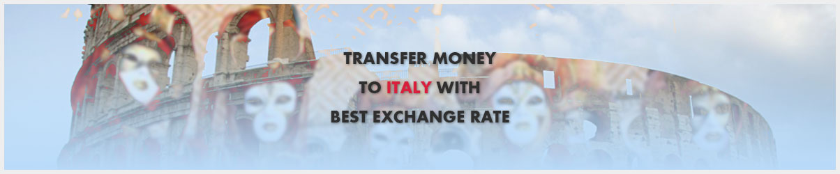 Money transfer to Italy