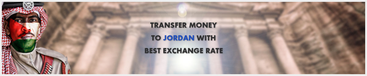 Money transfer to Jordan
