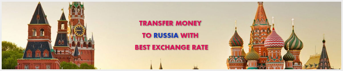 Money transfer to Russia