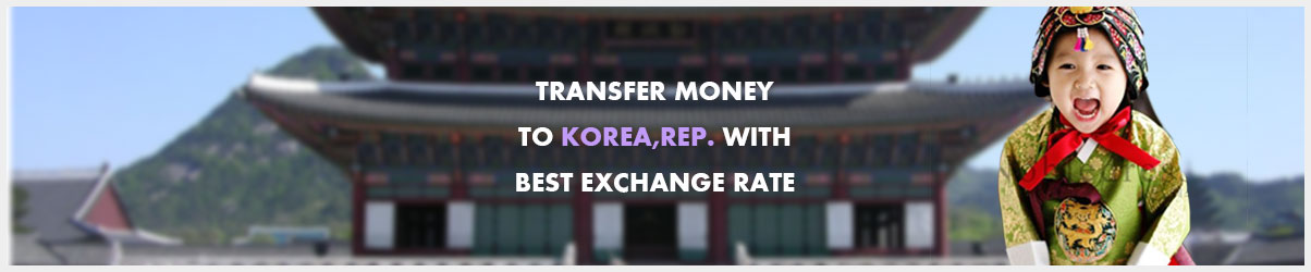 Money transfer to South-korea