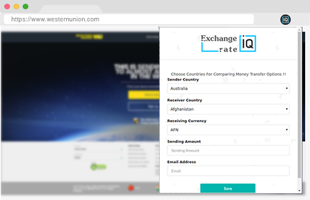 Exchangerateiq Chrome Extension Search Data