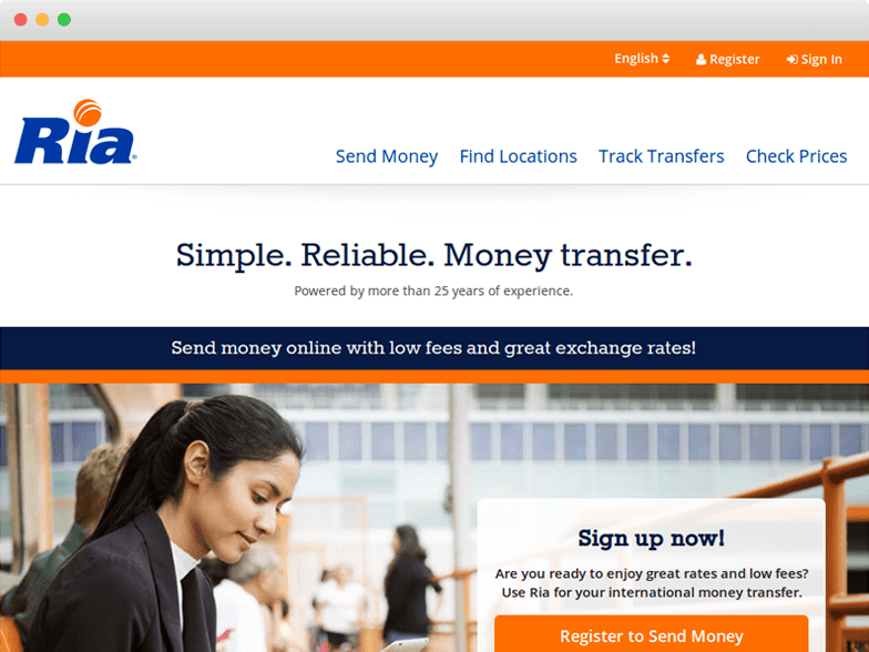 Ria Reviews Money Transfer