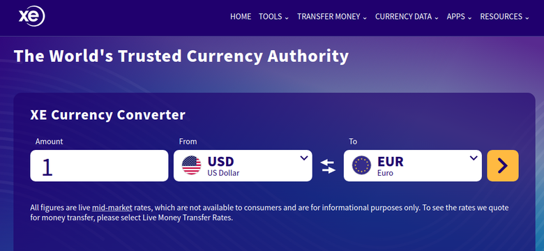 Xemoneytransfer Reviews Xe Money Transfer